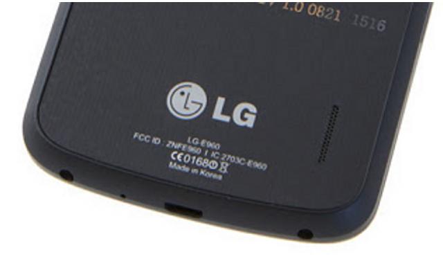 FCC ID del Nexus
